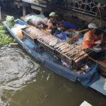 Mercado Flotante en Bangkok