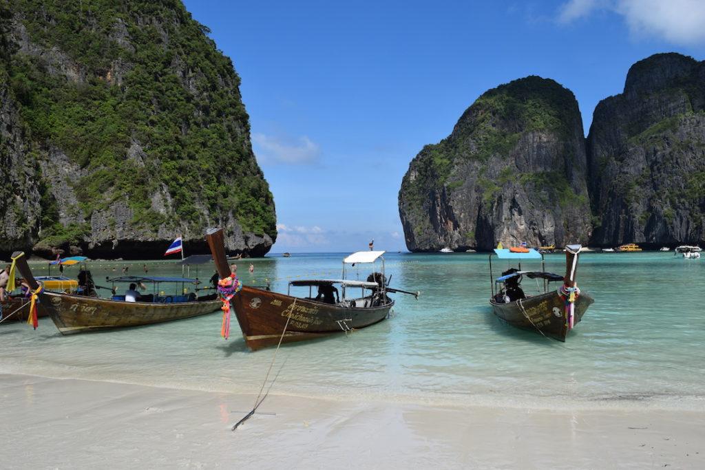 Maya Bay en Koh Phi Phi