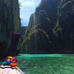 Navegando alrededor de Koh Phi Phi Leh