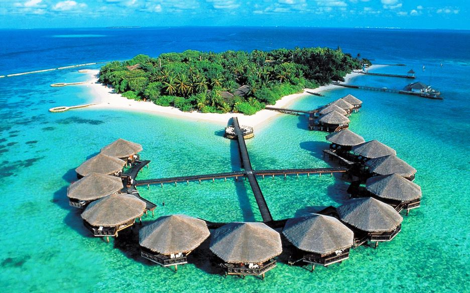 Famosos Resort sobre el Agua en Maldivas