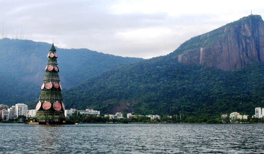 Arbol flotante Ipanema Brazil