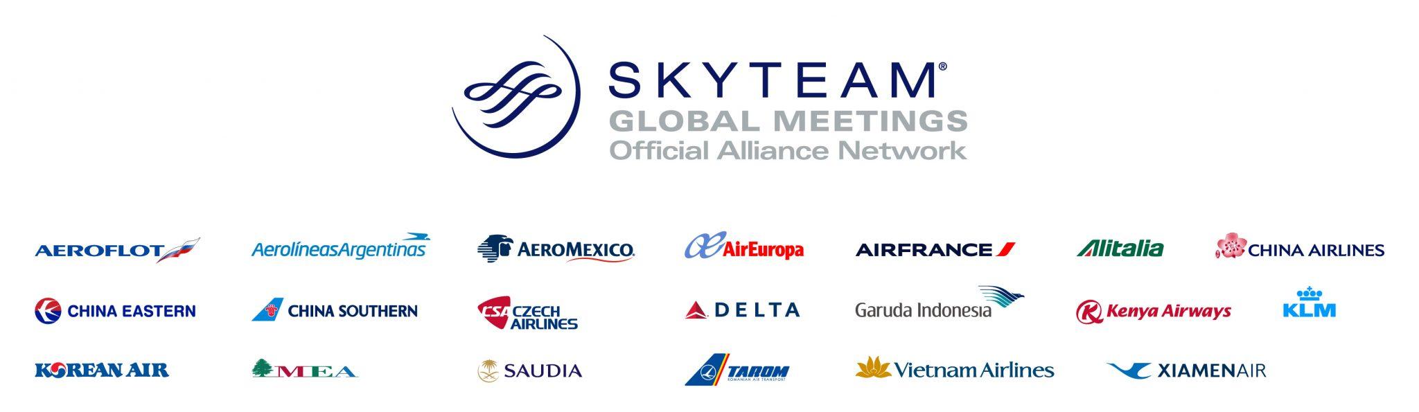 Líneas aéreas que pertenecen a Sky Team