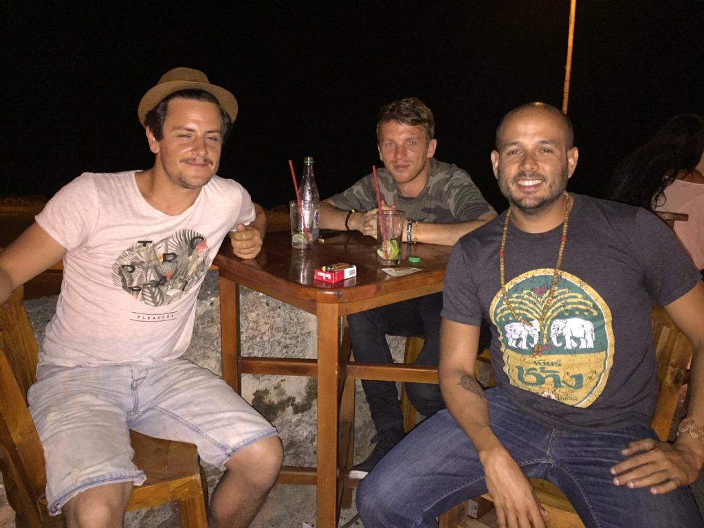 Parte de los viajeros que conocí por el app de couchsurfing