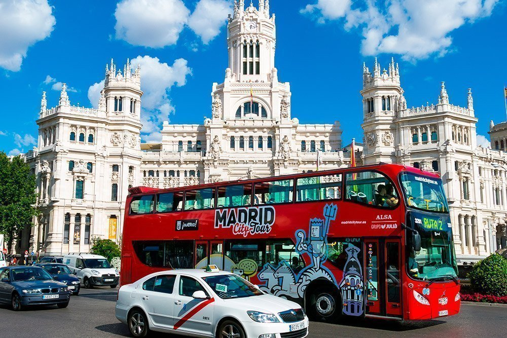 Hop in Hop off Bus Madrid
