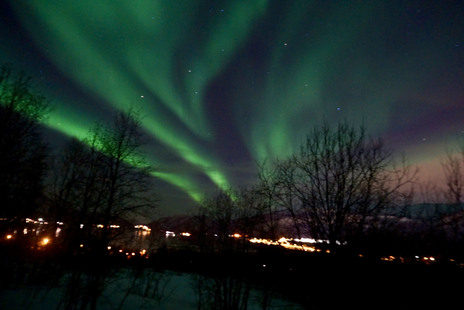 Aurora Boreal desde Tromsø